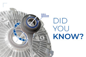 DID YOU KNOW WHAT A HALL EFFECT SENSOR IS AND WHAT IS IT USED IN A VISCOUS CLUTCH FOR?