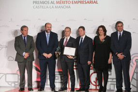 Cojali as Innovative Company at the I Awards to Entrepreneurial Merit of Castilla-La Mancha